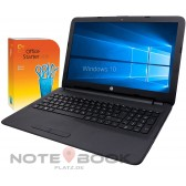 "HP 255  Notebook - 15,6"" - AMD  4 x 1,80Ghz - 8GB - 1000GB - Windows 10 - WebCam- Hdmi - DVD-RW"