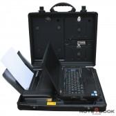 Prüfkoffer DICOTA / T420 mit HP100! i5 2,5Ghz / 8GB RAM / 256SSD! TOP MODEL