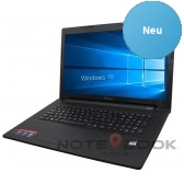 - Lenovo Notebook 17 Zoll - Quad Core - 4GB - 500GB - Windows 10 - Office- NEU