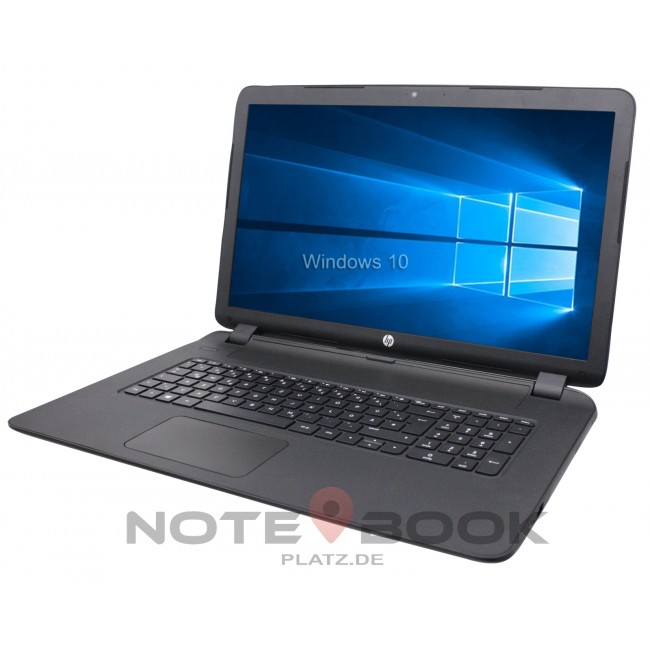 details zu hp notebook 17 zoll hd dual core 2x 2 0ghz 4gb. Black Bedroom Furniture Sets. Home Design Ideas