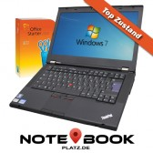 "Lenovo Notebook T430 - 14,4"" - i5 (3.Gen.) - 8GB - 320GB - Windows 7 - THINKPAD - SET"
